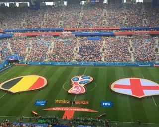 ロシアW3位決定戦、ベルギーがイングランドを下し、同国初の3位に
