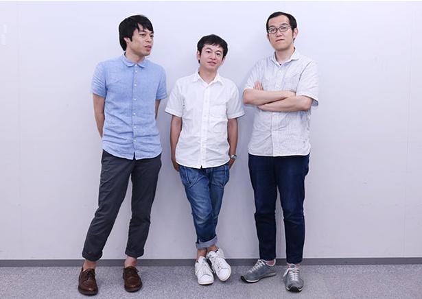 「福岡でもたくさんのお客さんに来ていただけるようになってうれしい」と撮影中も3人で楽しそう
