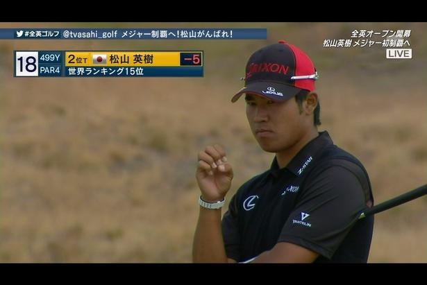 松山英樹ら日本人選手を応援! テレビ朝日ゴルフ中継初のTwitter連動中継が決定