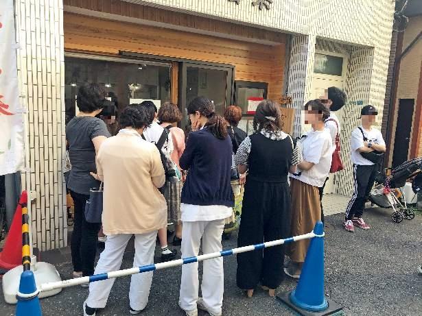 とある日の開店直後の11時15分に到着すると、受付票はすでに29番目まで埋まっていた