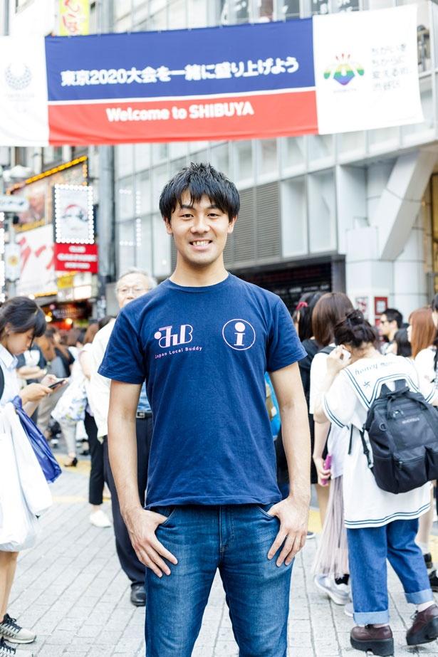 代表の大森峻太さん/株式会社ジェイノベーションズ代表取締役社長。5か国の留学経験を生かし、国際交流プラットフォーム「Japan Local Buddy」を立ち上げる