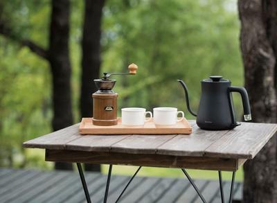 豆から挽くコーヒーセットも用意
