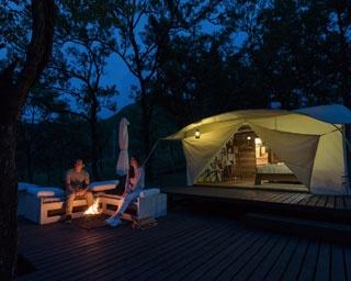 阿蘇の恵みを五感で味わうグランピング「ホテルグリーンピア南阿蘇&ラグジュアリーキャンプ」