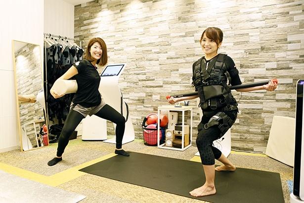 """最先端エクササイズに挑戦するのは""""女子鉄アナウンサー""""の久野知美さん!"""