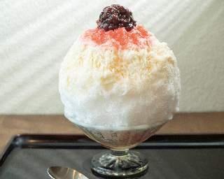 富士山の朝焼けを表現したかき氷!? 浅草浪花家の人気メニュー