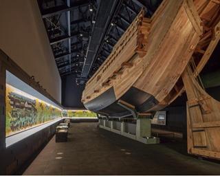 江戸時代の酢造りや現在の醸造の様子を学べる/MIZKAN MUSEUM