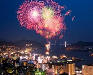 夏本番!今週、長崎で行われる花火大会[2018年7月23日(月)~29日(日)]