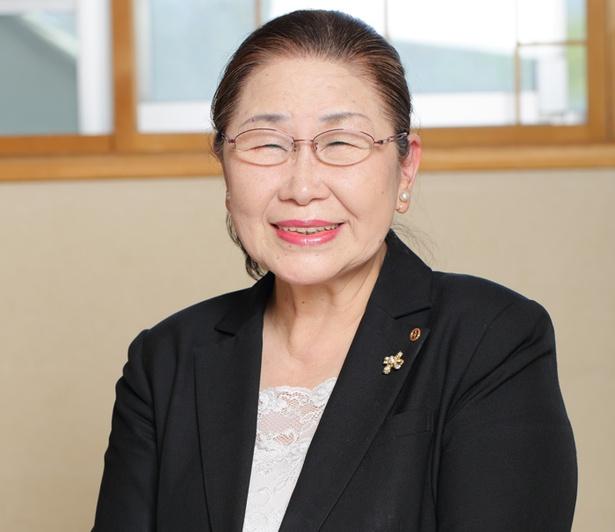 「水明閣」四代目で女将の山田昭惠さん