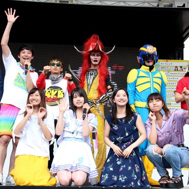 AKB48・吉川七瀬「ちょっとは成長できたかな」MC、センター、握手会も!地元イベントで大奮闘