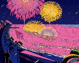 2018年8月17日(金)、「内海メ~テレ花火大会」が内海海水浴場(愛知県南知多町)で開催される