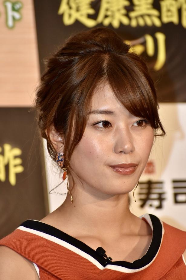 神スイングでおなじみの稲村亜美さん