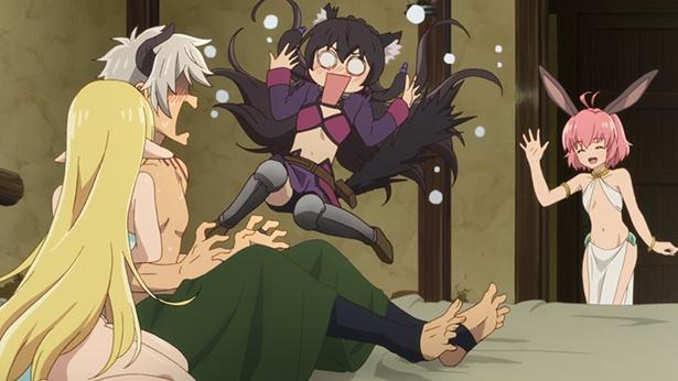 「異世界魔王と召喚少女の奴隷魔術」第4話の先行カットが到着。エデルガルトの大技を敢えて受けるが!?