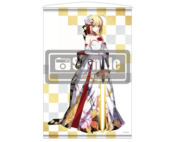 「FGO Fes.2018」KADOKAWAブースで、武内崇のイラストほか「Fate」シリーズの人気イラストがグッズになって発売!