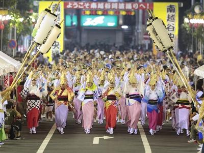 日本三大阿波踊りのひとつ「第34回南越谷阿波踊り」が今年もやってくる!