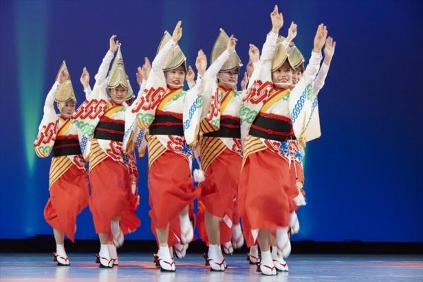 【写真を見る】例年約70万人もの見物客を動員する「南越谷阿波踊り」が開催!