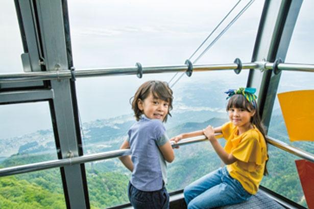 「びわ湖バレイ」で琵琶湖を見下ろす空中散歩で絶叫と絶景を同時に味わおう【 7 / 8 】