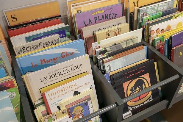 絵本もあるので、フランス語初心者も楽しめる