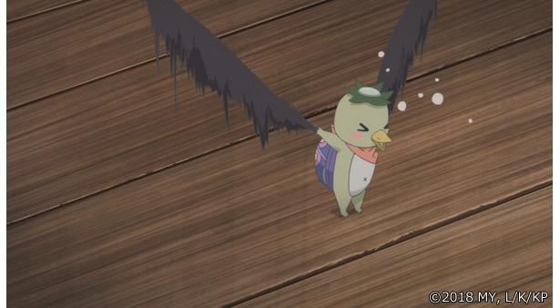 「かくりよの宿飯」第18話の先行カットが到着。松葉が葉鳥をボロボロに……