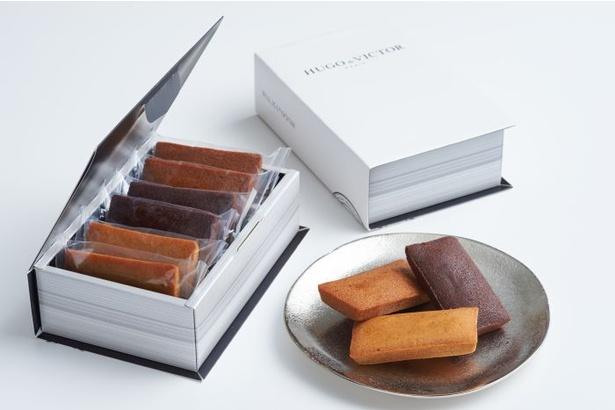 厳選素材で作る上品な味わいが楽しめるHUGO & VICTOR 表参道ヒルズ店の「フィナンシェ」(6個入り 2376円)