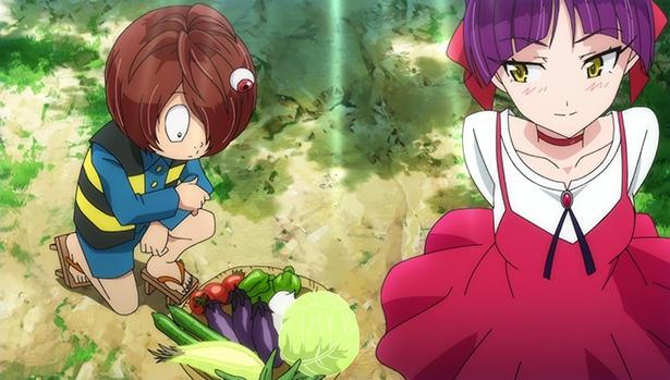 畑作業に勤しむねこ娘は必見!「ゲゲゲの鬼太郎」第18話の先行カットが到着