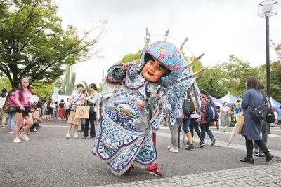 台湾の人形は台湾人に人気
