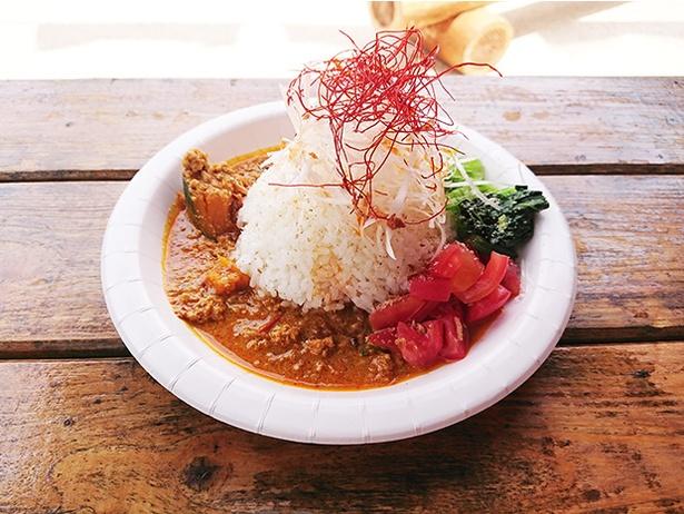 「WORLD DINING BAR LECKER」の担々風CURRY(1,000円)