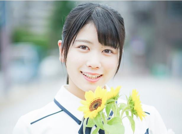 デビューアルバム「走り出す瞬間」を発売した けやき坂46・丹生明里