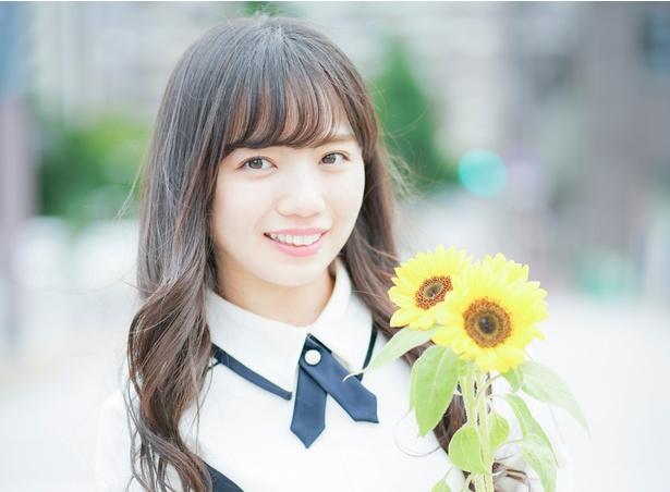 デビューアルバム「走り出す瞬間」を発売した けやき坂46・齊藤京子