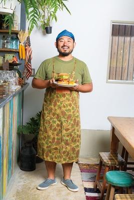 「今の自分が本当に作りたいハンバーガーを追求していきたい」オーナーシェフの北垣勝彦さん/DAKOTA RUSTIC TABLE