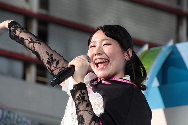 2015年に声優デビューした永恵由彩