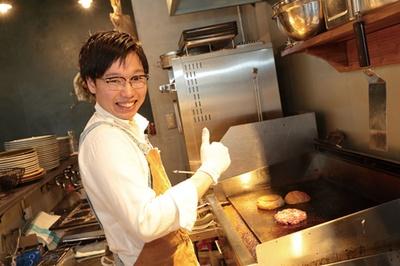 徳岡さんいわく、USビーフはワイルドなアメリカンバーガーをイメージして選択/DEXTER DINER