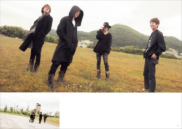 緑の島からは函館山を望める