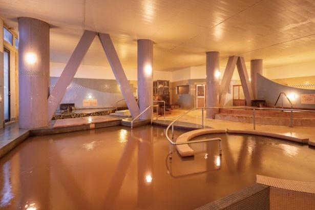 九十九島シーサイドホテル&スパ 花みずき / 温泉と潮湯、冷泉などを備える