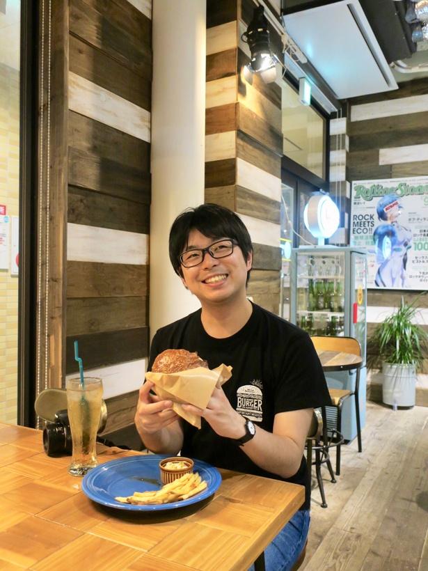 「ハンバーガーの情報はインスタで探して、気になったらすぐ食べに行きます」(林)