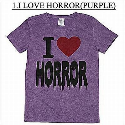 「I LOVE HORROR(PURPLE)」