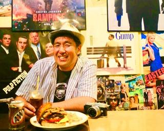 8/8(水)発売「関西ウォーカー特別編集 関西 本当にうまいハンバーガー」達人インタビュー バーガーフリーク 亀田 寛さん