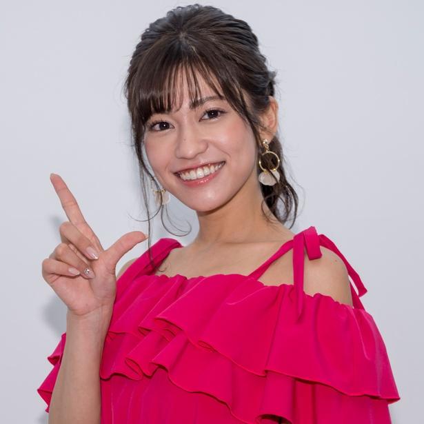 DVD&Blu-ray「あなたの隣で…」発売イベントに登壇した大澤玲美