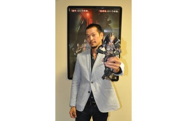 流暢な日本語で気さくにインタビューに応じてくれたルイ・オザワ