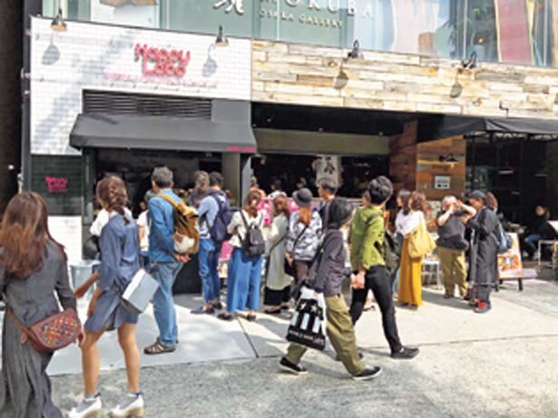 南堀江の人気店「good spoon」オープンテラス横にあるテイクアウト店/Happy Labo