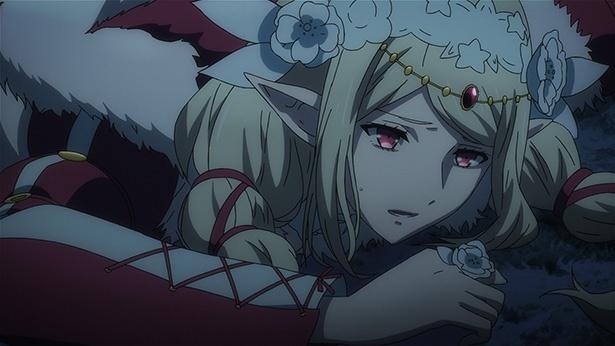 「ロード オブ ヴァーミリオン 紅蓮の王」第4話の先行カットが到着。千尋と優羽莉が謎の異空間に!?