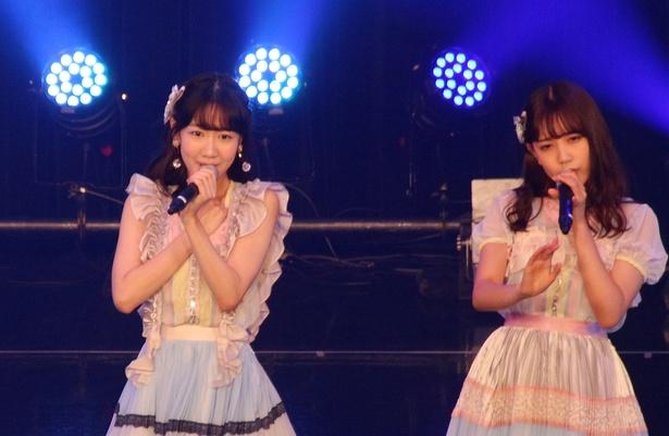 「AKB48 TIF2018選抜」の柏木由紀と加藤玲奈