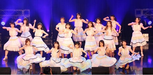 「TOKYO IDOL FESTIVAL 2018」に出演した「AKB48 TIF2018選抜」