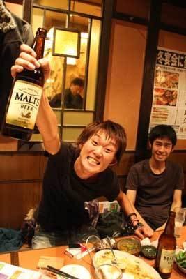 「ゆうただいすけ」の吉田勇太。酒飲みすぎっス!