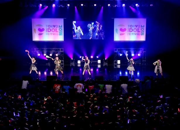 チームしゃちほこが8月3日、HOT STAGEに出演