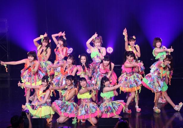 TIF初出演となるNMB48からカトレア組が登場!