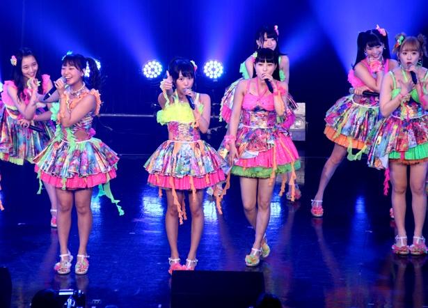 「TOKYO IDOL FESTIVAL 2018」2日目のHOT STAGEに出演したNMB48カトレア組