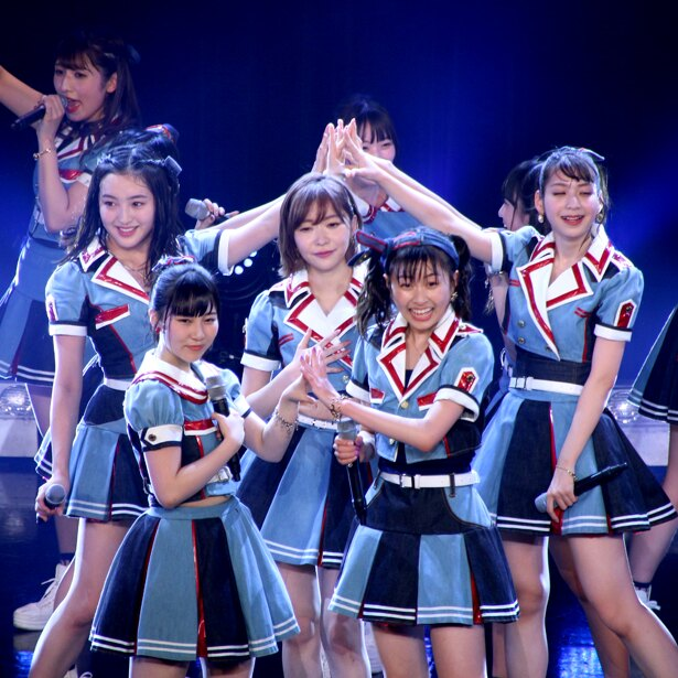 「TOKYO IDOL FESTIVAL 2018」メインステージの大トリを務めたHKT48