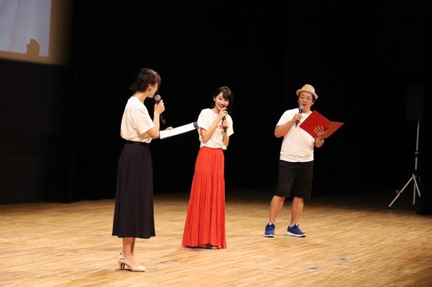 バースデーイベントでは、中村葵とムートン伊藤が司会を務め、イベントを盛り上げた