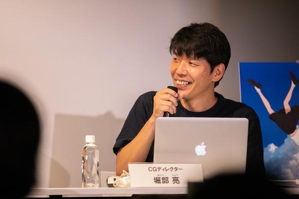 長年、細田守監督作品を支えてきたCGディレクター、堀部亮