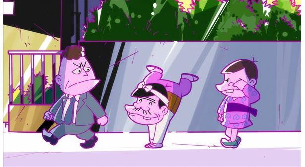 「深夜!天才バカボン」第5話の先行カットが到着。バカボンが無理やり連れ出されて…?